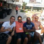 Surinamese tablers in Plovdiv Bulgaria